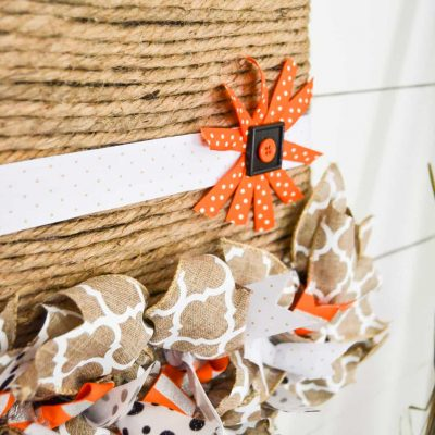Fall Decorating: Witch Hat Wreath