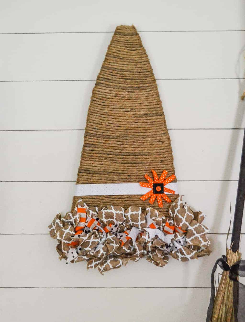 Witch Decorating Fall Decorating Witch Hat Wreath My Creative Days