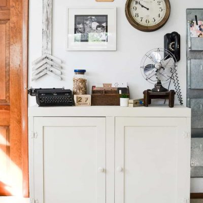 Curbside Cabinet Makeover For The Office {+ GIVEAWAY}