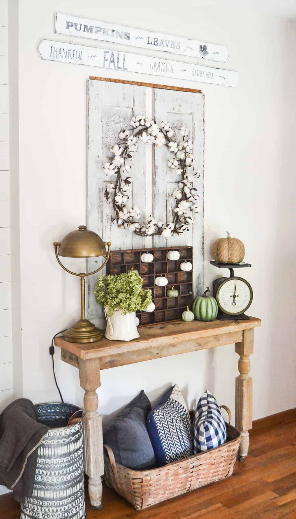 Neutral Fall Home Tour With Kirklands - My Creative Days