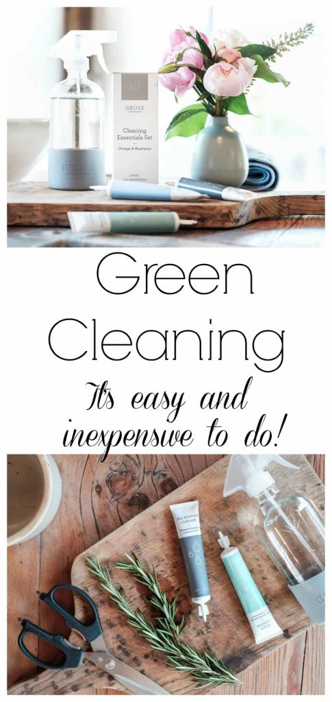 Green Cleaning - Green cleaning doesn't have to cost more money. You will save money in the end!