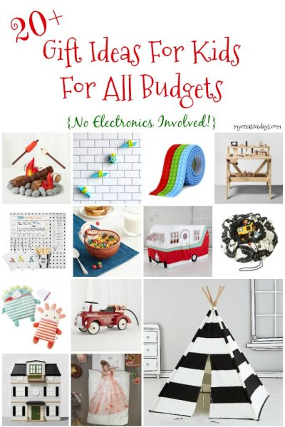 Gift Ideas For Kids For All Budgets