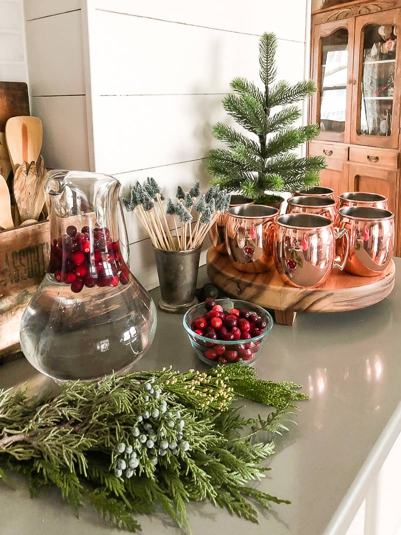 Christmas Kitchen Tour That Is Festive Easy And Won T Break The Bank