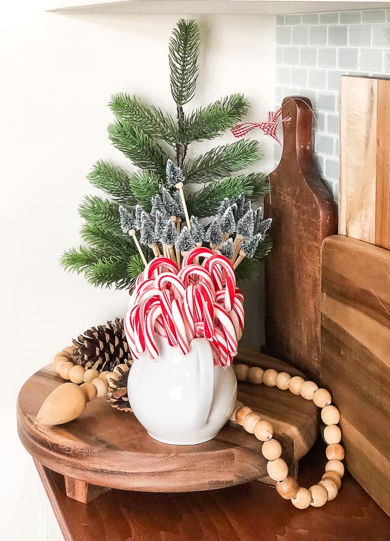 Christmas Vignettes In The Dining Room My Creative Days