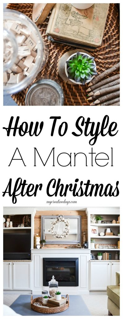 If you are looking for ways to style a mantel after Christmas, look no further. These tips will make it easy and remove the stress from the process.