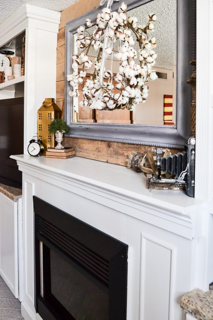 Looking for easy ways to style a mantel after Christmas? These tips will make it easy and remove the stress from the process.