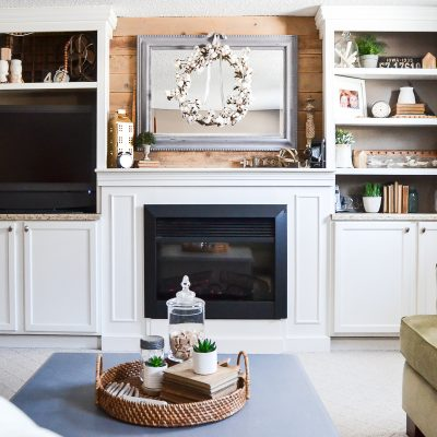 How To Style A Mantel After Christmas