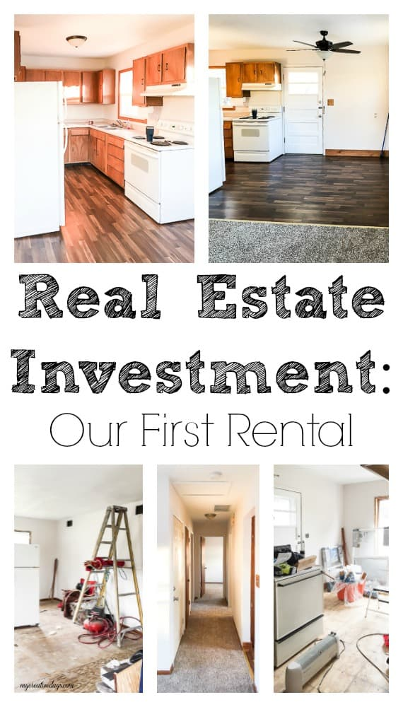 Are you looking into real estate investment? We are talking all about our first rental investment and all the things we learned along the way.