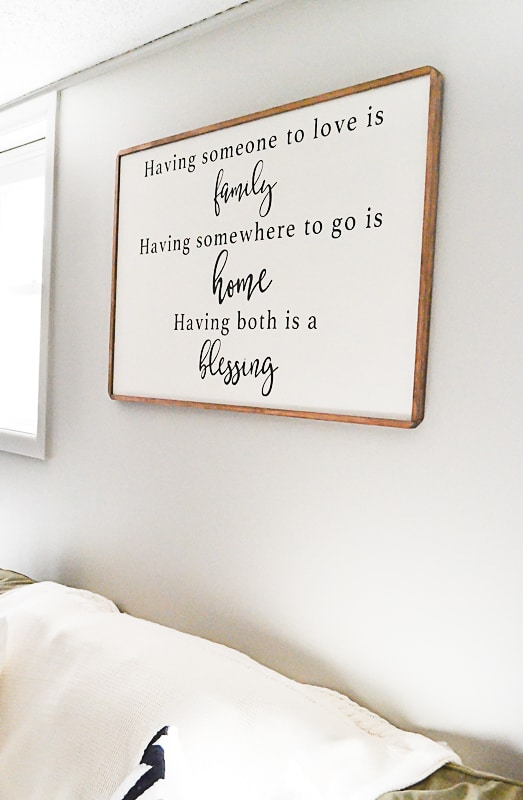 If you are looking for some custom art work for your home, look no further. These custom wood signs will make your art work personal and timeless.