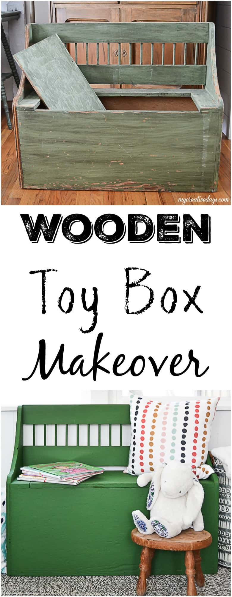 Wooden Toy Box That Will Keep Toys Put Away Out Of Sight