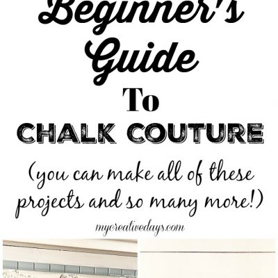 You have heard a lot about Chalk Couture, but what is it? Click over to find a beginner's guide that will explain what all the hype is about this amazing craft line.