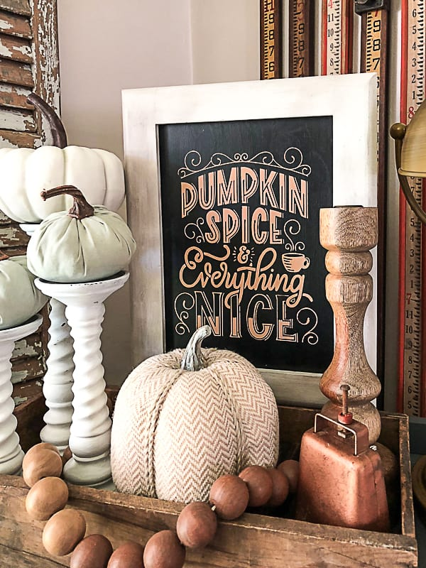 If you are looking for a fun fall sign that you can make yourself and won't cost a lot of money, click over to see how I made this DIY fall chalkboard sign with Chalk Couture supplies!