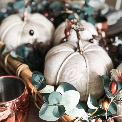 How To Style A Fall Table Easily