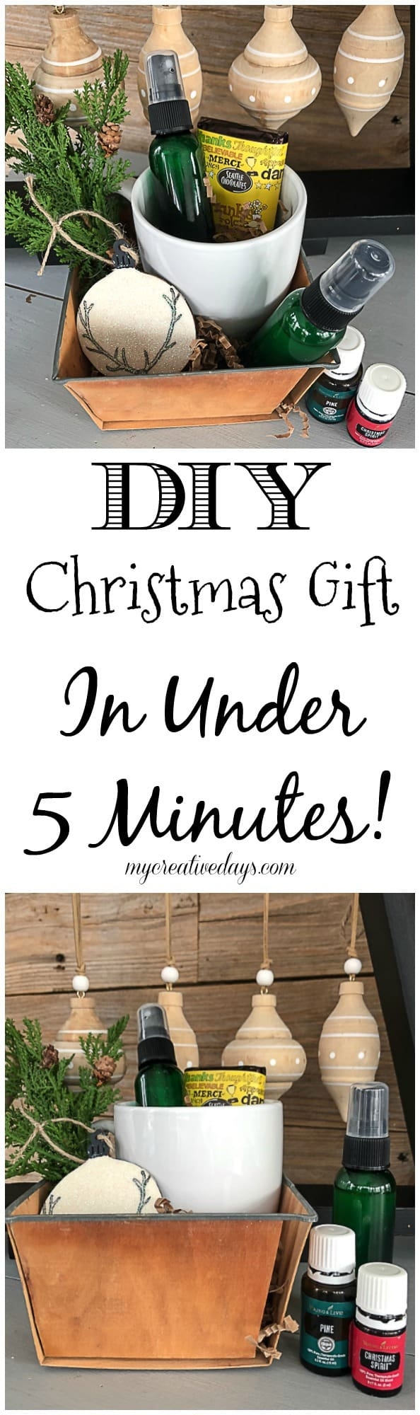 DIY Christmas Gift In Under 5 Minutes! - My Creative Days