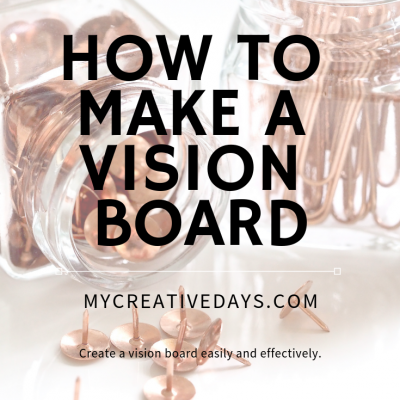 If you have thought about a vision board, but don't know where to start, these tips will tell you how to make a vision board easily and effectively.