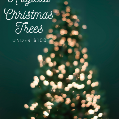 28 Artificial Christmas Trees Under $100