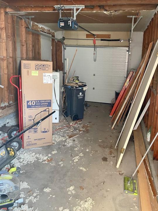 garage at flip