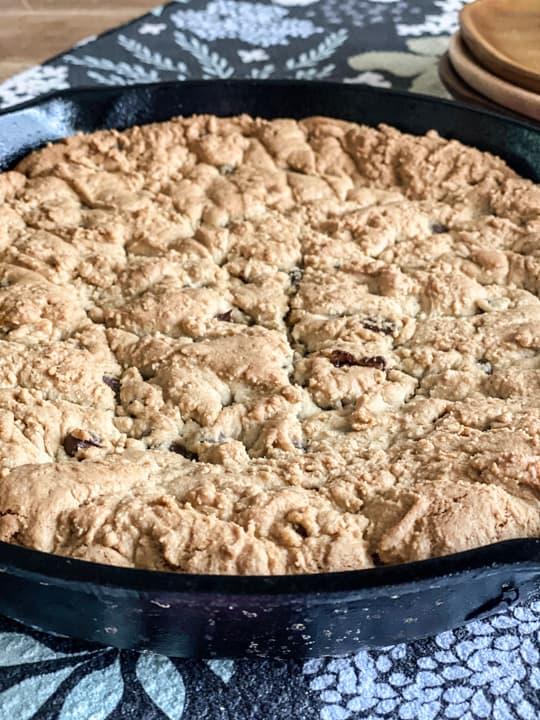 cast iron cookie
