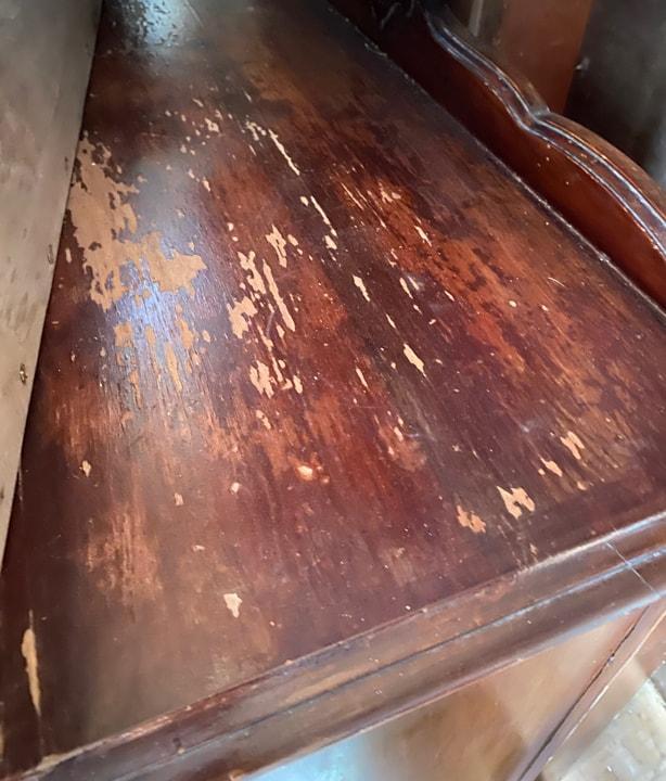 top of dresser