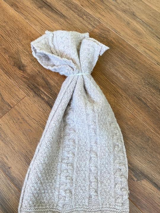 cut sweater