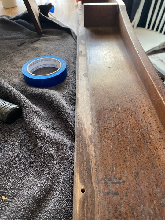 taking mantel apart