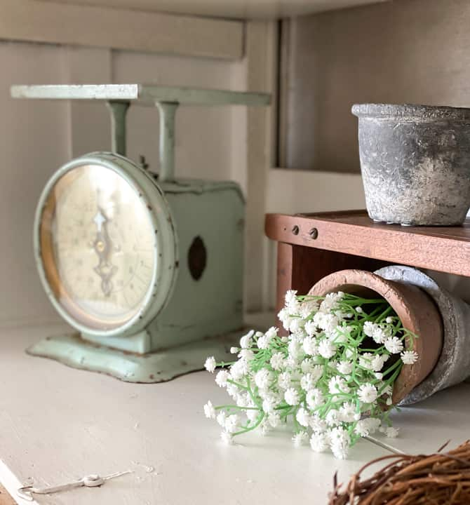 Thrifted Decor Adds Spring Touches To The Living Room