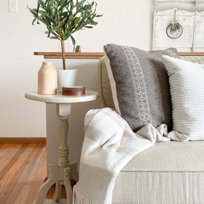 Small End Table Makeover With Wise Owl Products