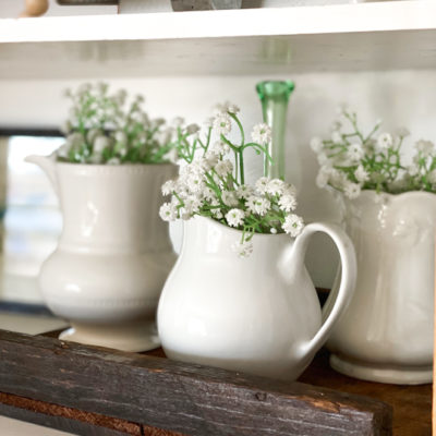 Thrifted Decor Adds Spring Touches To Our Home