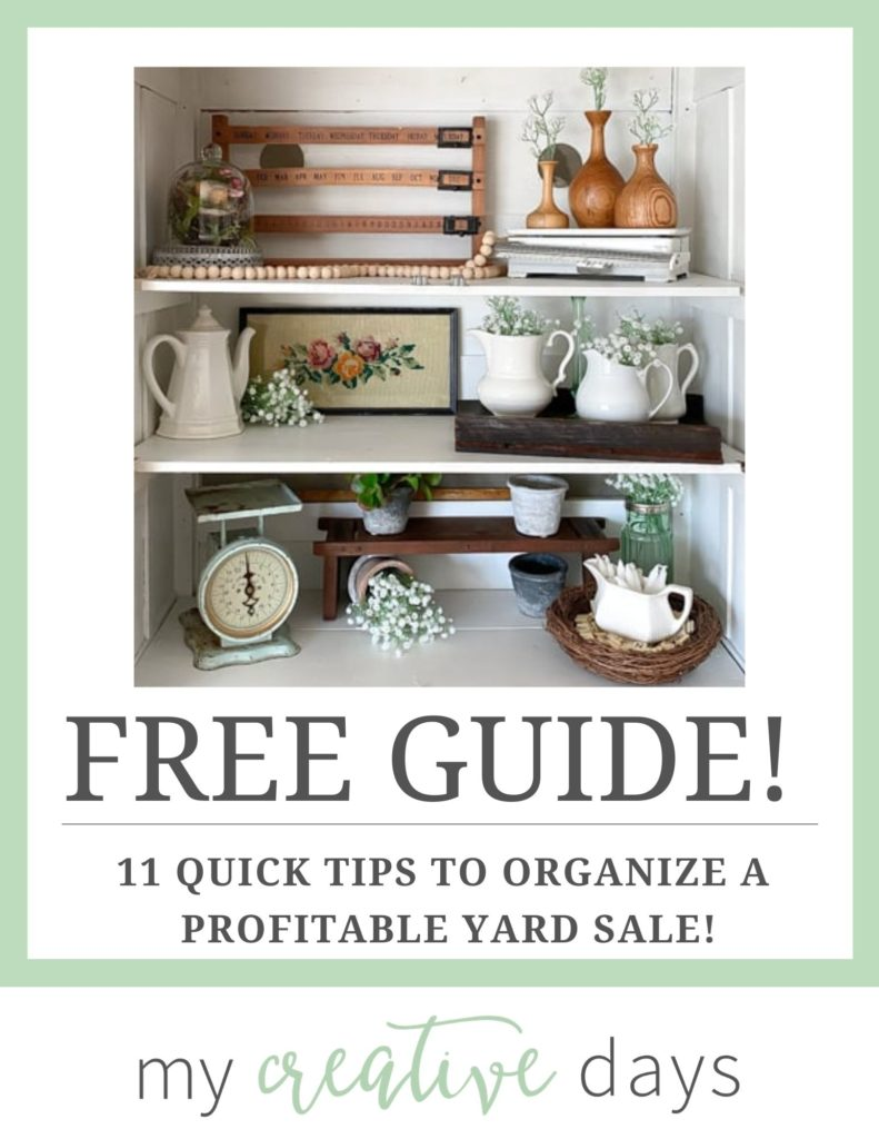 11 Quick Tips to Organize a Profitable Yard Sale